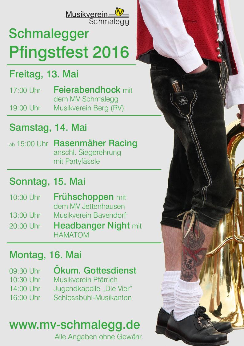 Pfingstfest 2016