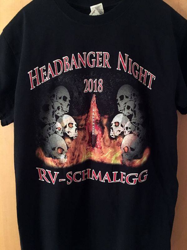 Headbanger T-Shirt 2018 Front