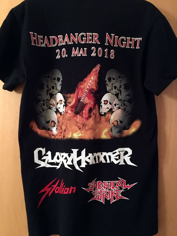 Headbanger T-Shirt 2018 Rear