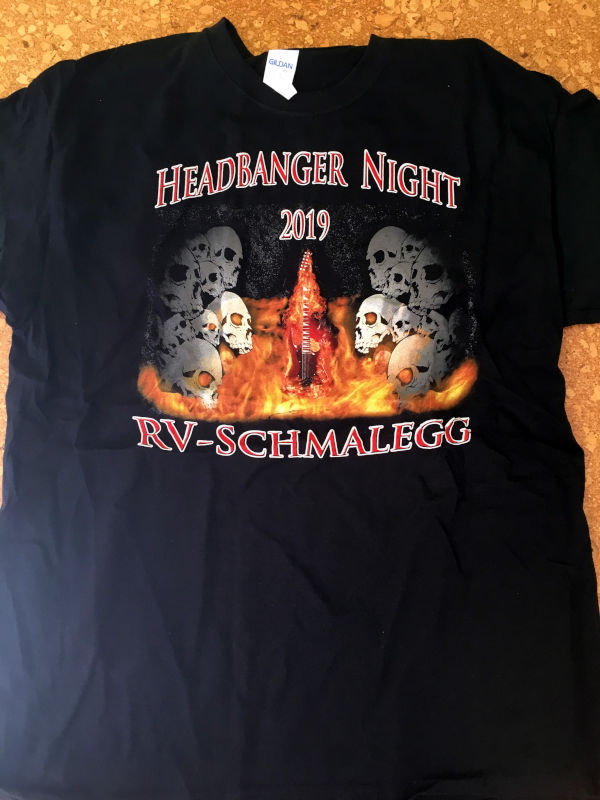 Headbanger T-Shirt 2019 Front
