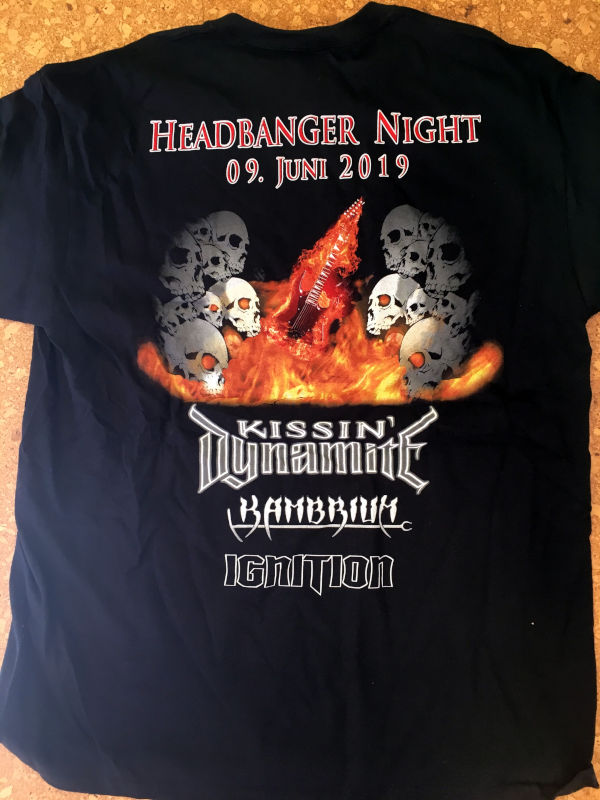Headbanger T-Shirt 2019 Rear