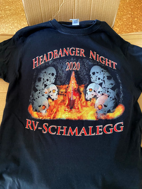 Headbanger T-Shirt 2020 Front