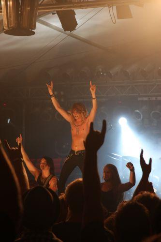 Kissin Dynamite, Headbanger Night 2014 5