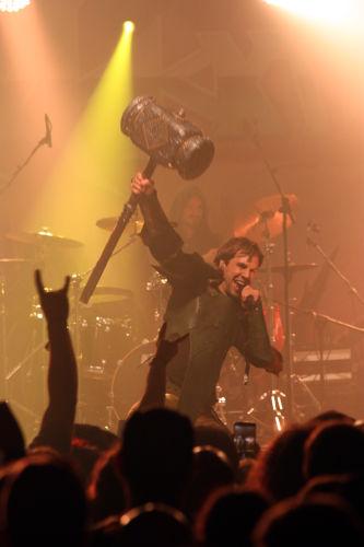 Gloryhammer, Headbanger Night 2018 1