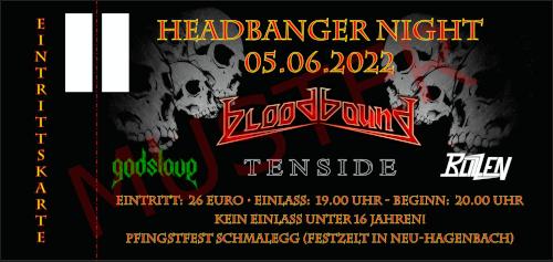Hardticket Headbanger Night Schmalegg 2022